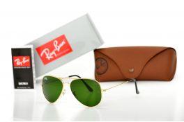 Солнцезащитные очки, Ray Ban Original 3025D-green-gold